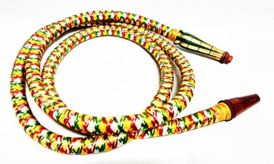 SONA CRAFTS OF INDIA Rubber Multicolor Hookah Hose(Pack of 1 Mouth Tip Included)
