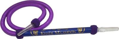 KHALIL MAMOON Rubber Purple Hookah Hose(Pack of 1)