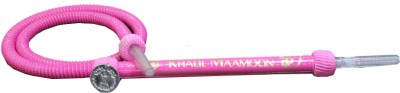 KHALIL MAMOON Rubber Pink Hookah Hose(Pack of 1)