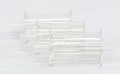 Iced Hookah Plastic Outside Fitting Hookah Mouth Tip(Clear)