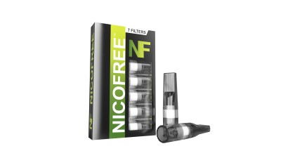 Nicofree Cigarette Smoking Filter (8 packs = 56 Filters = lasts upto 560 Cigs) Plastic Outside Fitting Hookah Mouth Tip