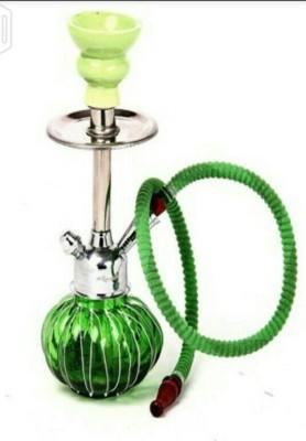 Emc Shopping 12 inch Glass Hookah(Green)