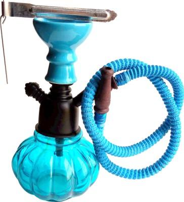 Being Nawab Cutie Turquoise 8 inch Glass Hookah(Blue)