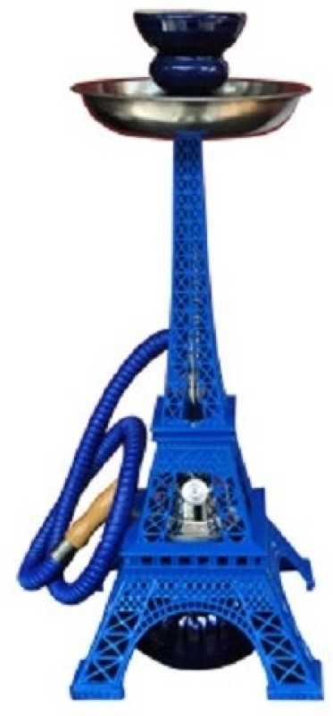 ShopToSurprise Eiffel Tower 15 inch Cast Iron Hookah(Blue)