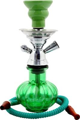 Triston Home Designer Nawabi Style 12 inch Glass, Aluminium Hookah