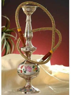 Glori-fyi Antique Handcrafted Brilliant 14 inch Brass Hookah