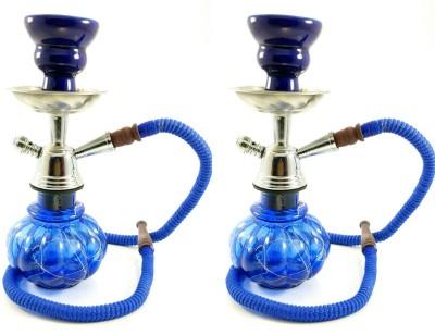 Singh Xpress Combo of 2 Arabian Nights Hukkah for Nawabs -Flavoured 10 inch Glass Hookah