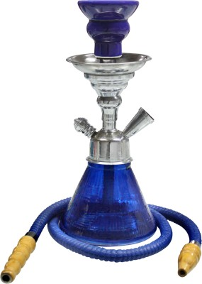Triston Home Designer Dark Pyramid 12 inch Aluminium, Glass Hookah