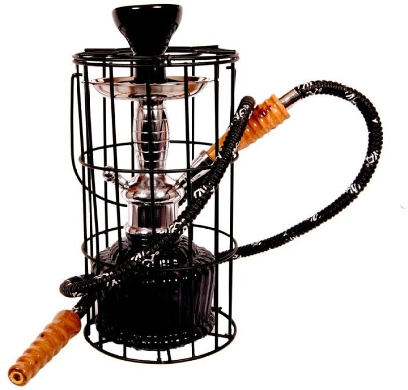 True 15 inch Glass Hookah(Black)