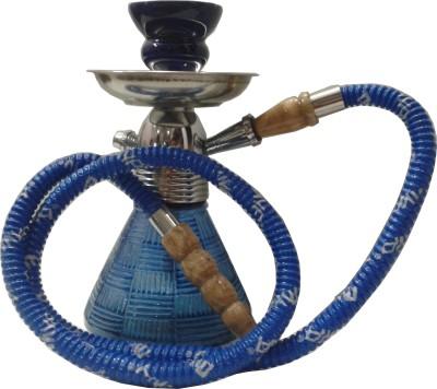 Indotech 9 inch Glass Hookah(Blue)