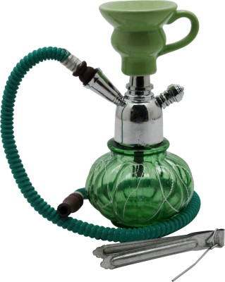 Triston Home Uniquely Designed-Decoartive Stylish Portable 8 inch Glass Hookah