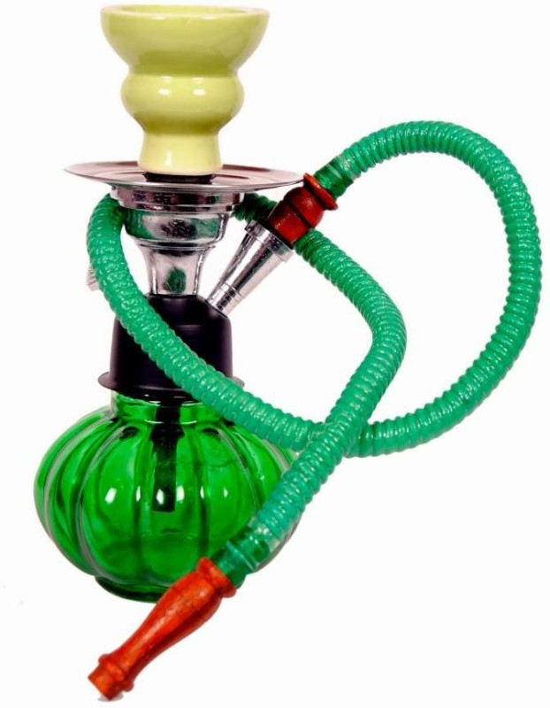True 10 inch Glass Hookah(Green)