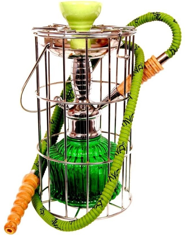 True 15 inch Glass Hookah(Green)