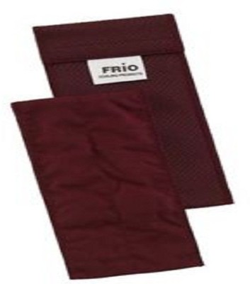 Frio INDIVIDUAL-INSULIN-COOLING-POUCH-MAROON Cold Pack