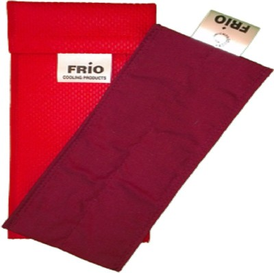 Frio INDIVIDUAL-INSULIN-COOLING-POUCH-RED Cold Pack