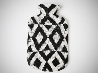 Pluchi Noel Hot Water Bottle Cover Non-Electrical 2 L Hot Water Bag