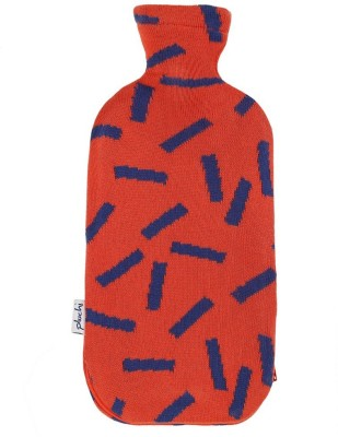 Pluchi Dominos Knitted Bottle Cover NON-ELECTRICAL 2 L Hot Water Bag