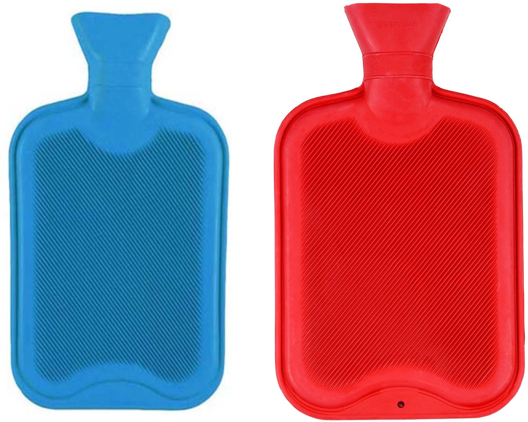 Rozols Combo Comforts Non-electrical 3 L Hot Water Bag(Red, Blue)
