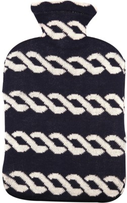Pluchi Nautical Chains Hot Water Bottle Cover Non-Electrical 2 L Hot Water Bag