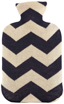 Pluchi Chevron Hot Water Bottle Cover Non-Electrical 2 L Hot Water Bag