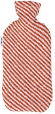 Pluchi Diagonal Stripes Knitted Bottle Cover NON-ELECTRICAL 2 L Hot Water Bag