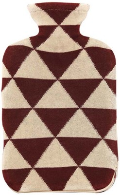 Pluchi Triangulos Hot Water Bottle Cover Non-Electrical 2 L Hot Water Bag