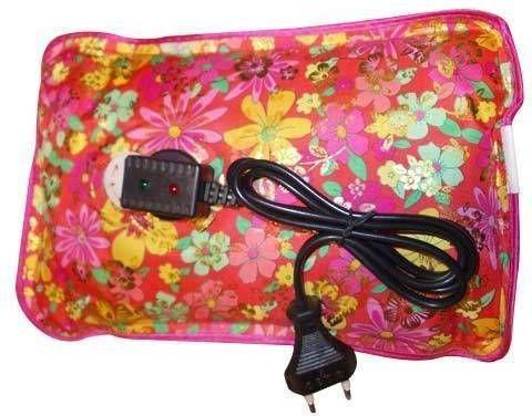 Max Plus Warm Water Bag Electric 1 L Hot Water Bag(Black, Red, Blue)