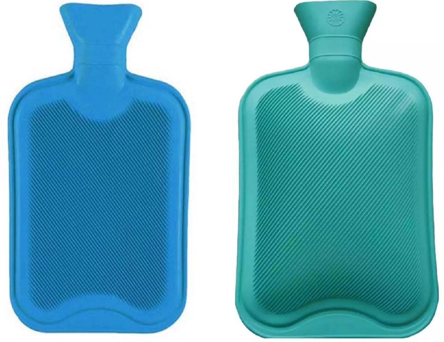 Rozols Combo Deluxe Non-electrical 3 L Hot Water Bag(Blue, Green)
