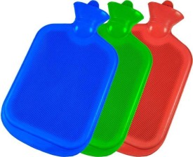 Wazzan comfort non-electrical 1 L Hot Water Bag(Red, Blue, Green)