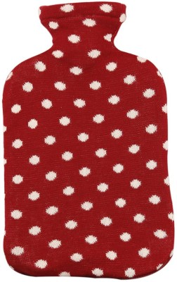 Pluchi Dots All The Way Hot Water Bottle Cover Non-Electrical 2 L Hot Water Bag