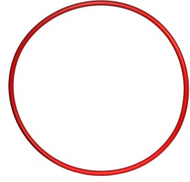 "THE UNIVERSE SPORTS Exercise Ring Single Piece 18"" for CHILDREN Hula Hoop(Diameter - 46 cm)"