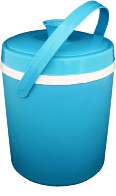 Tesco Plastic Ice Bucket(Blue, White)