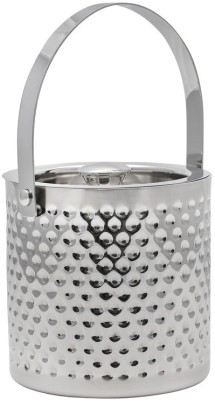 Mango Orchard Double Walled Dimple Hammer Stainless Steel Ice Bucket