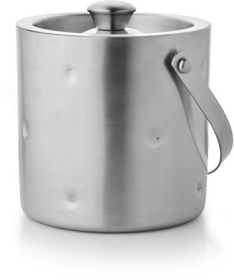 Mosaic Dimple Small Stainless Steel Ice Bucket