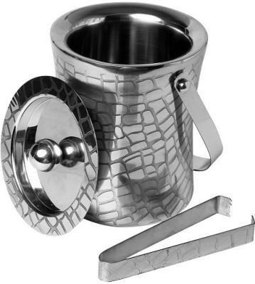SmartServe grid Steel Ice Bucket(Steel 0.900 L)