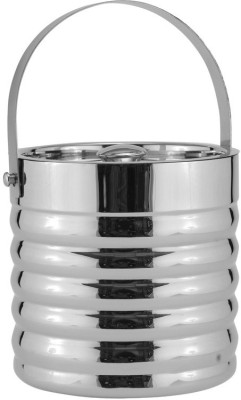 Mango Orchard Double Walled Ribbed Stainless Steel Ice Bucket