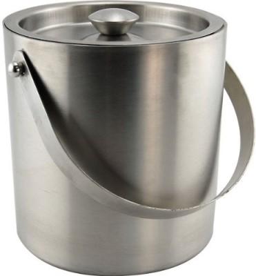 Tirupati Double Wall Stainless Steel Ice Bucket(Steel)