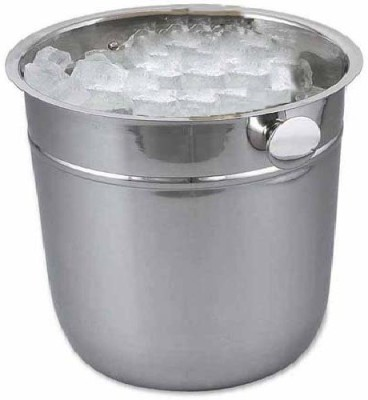 Dynore Indica Stainless Steel Ice Bucket(Steel 1 L)