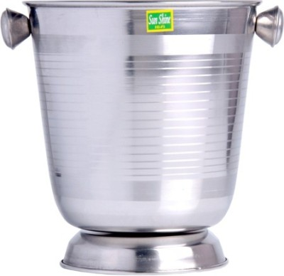 Sunshine Industries Stainless Steel Ice Bucket(Steel)