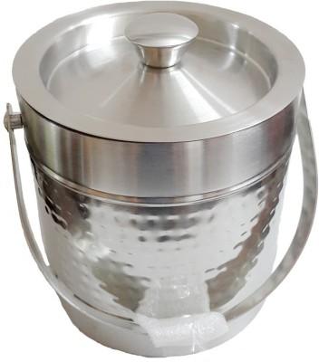 AM VAASITI Ultra Modern Stainless Steel Ice Bucket(Steel)