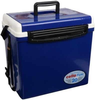Cello Picnic Plastic Ice Bucket(Blue 20 L)
