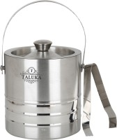 "Taluka (5.14"" x 7.8"" inches approx) Stainless Steel Ice Bucket Champagne bucket Capacity:- 1500 ml Stainless Steel Ice Bucket"