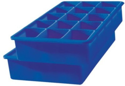 Tovolo Perfect Cube Ice Trays - Stratus Blue Blue Silicone Ice Cube Tray