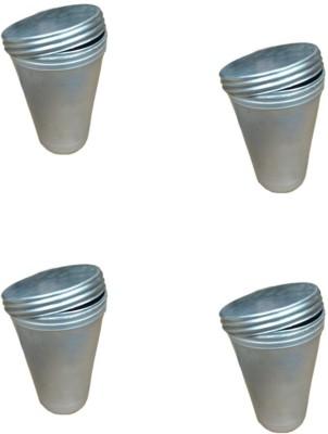 Eldefashions Silver Aluminium Ice Cube Tray