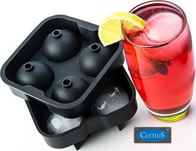 Clytius Black Silicone Ice Ball Maker