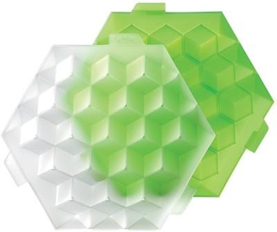 Lekue Green Polypropylene Ice Cube Tray