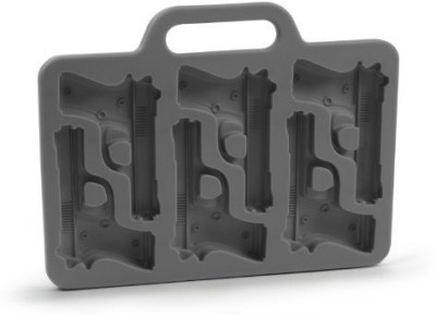 Pack N Buy Black Silicone Ice Cube Tray