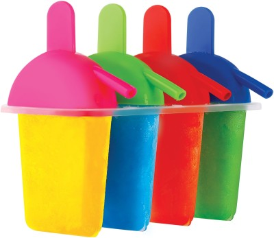 Disha Sip N Lick (Ice Lollies - set of 4) Multicolor Plastic Ice Ball Maker Set