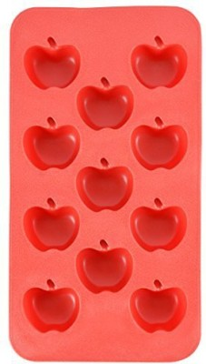 Fairly Odd Novelties Apple Shape Flexible 11Ice Cube Tray