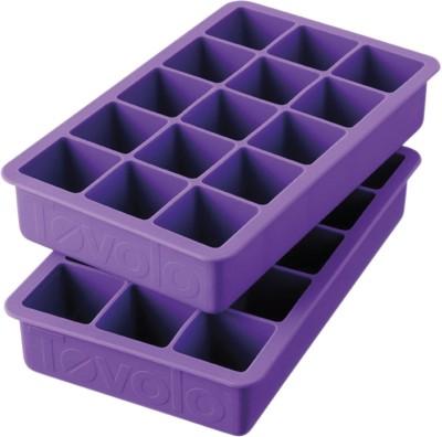 Tovolo Purple Silicone Ice Cube Tray Set